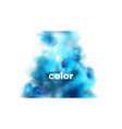 holiday abstract shiny color powder cloud design vector image