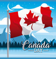 independence canada day vector image vector image