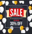 sale vintage text banner ready to print and use vector image vector image