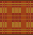 scottish pattern seamless background vector image vector image