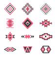 symbols tribal design Ethnic motif Boho vector image vector image