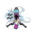 vape mafia vaping juice for vape vector image
