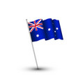 australia day flag vector image vector image
