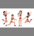 Beach sport volleyball player match