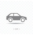 car icon on transparent background vector image vector image