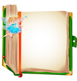fairy book vector image vector image