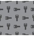 Metallic Seamless Grey Key Pattern vector image vector image