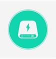 power bank icon sign symbol vector image