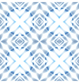 seamless Scandinavian stars blue ice patter vector image vector image