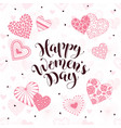 women day card vector image vector image