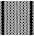 zigzag lines seamless pattern black and white vector image vector image