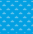 zombie halloween pattern seamless blue vector image vector image
