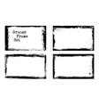 grunge frame templates vector image