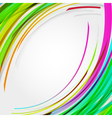 Abstract circles lines background for your text vector image vector image