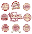 Bakery badges and labels vector image