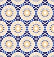 Seamless geometric pattern of ethnic ornament vector image