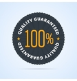 Quality guaranteed badge vector image vector image