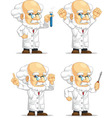 Scientist or Professor Customizable Mascot vector image vector image