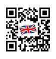 smartphone readable qr code united kingdom vector image vector image