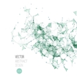 Molecule And Communication Background vector image