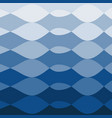 aqua blue abstract background smooth wavy shapes vector image vector image