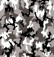 camouflage grey vector image vector image