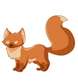 Cartoon Little fox vector image
