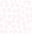 Easter seamless pattern Eggs design Easter egg vector image vector image