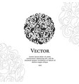 emblem can be used for jewelry beauty vector image vector image