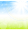 rays light vector image vector image