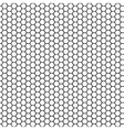 Seamless pattern honeycomb vector image vector image