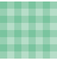 Tile green plaid background checkered pattern vector image