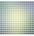 yellow purple grey rounded mosaic background over vector image vector image