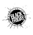black friday promotion banner vector image