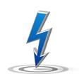 Blue Flash arrow
