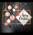 dark holiday template-11 vector image vector image
