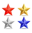 four stars vector image vector image