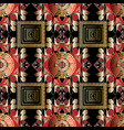 modern greek seamless pattern ornamental vector image