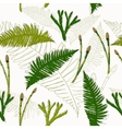 Seamless texture in eco style vector image