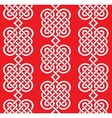 seamless weaving of line pattern vector image vector image