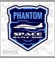space batlmilitary chevron vector image vector image