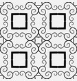 vintage retro pattern vector image vector image