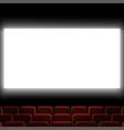 cinema auditorium vector image