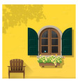 architectural element window background 4 vector image vector image