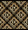 greek geometric ornamental seamless pattern vector image