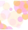 Pastel colors abstract minimal circles design vector image
