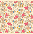 pattern seamless kids with cute baby doodle vector image vector image