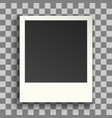 photo frame retro vintage style mock up template vector image vector image