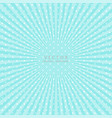 popular abstract blue ray star burst background vector image