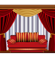 Theatre Lounge vector image vector image